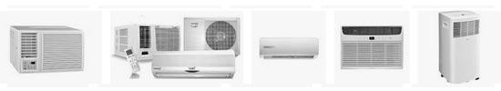 différents modèles de climatiseur