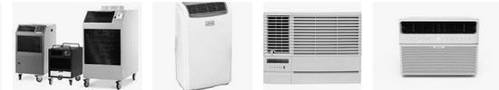 différentes familles de climatiseur