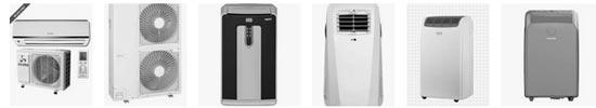 différents systèmes de climatiseur
